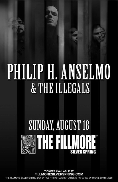 Philip H. Anselmo & The Illegals at the Fillmore Silver Spring