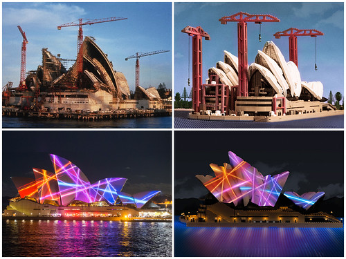 LEGO Sydney Opera House photo shoot