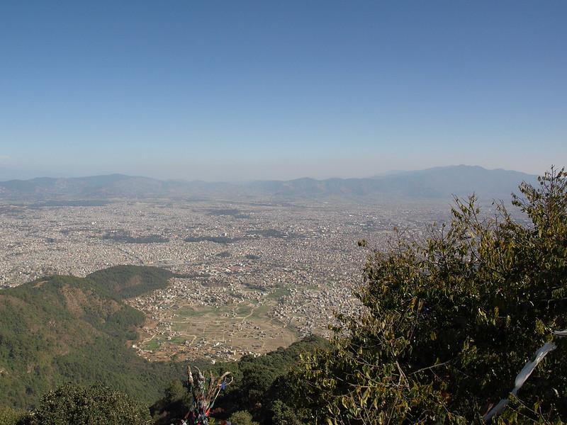 View from Shivapuri's summit