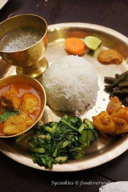 9.nepal restaurant- Khukurako Masu Ra Bhat (4)