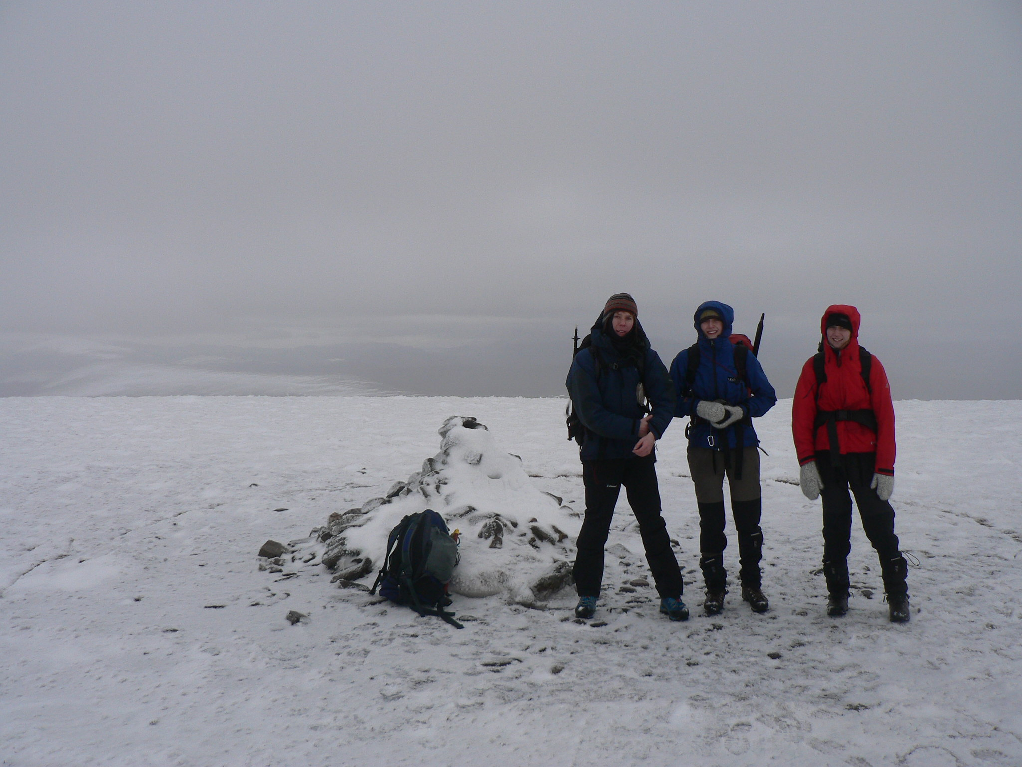 Summit of Mullach Clach a Bhlair, complete with