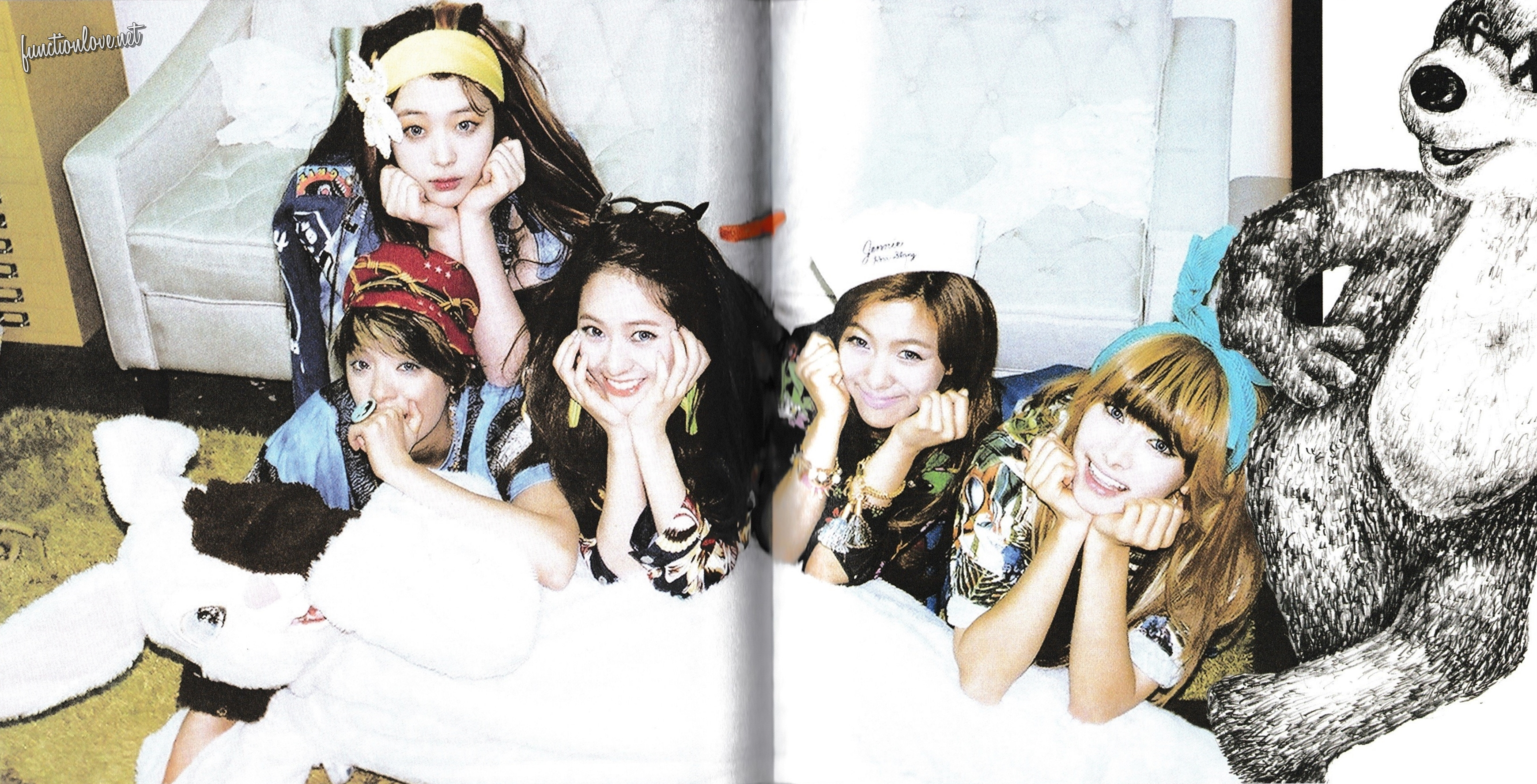 f(♥) Exclusives – [HQ SCANS+DL] f(x) 2nd Mini Album ... F(x) Electric Shock Album Cover