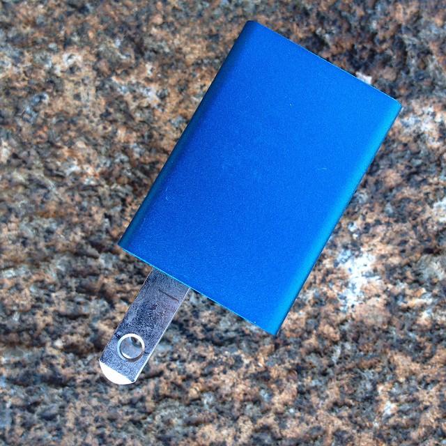 USB Power Cube - 2 - Turquoise