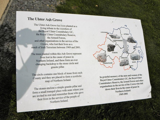 The Ulster Ash Grove at the National Memorial Arboretum