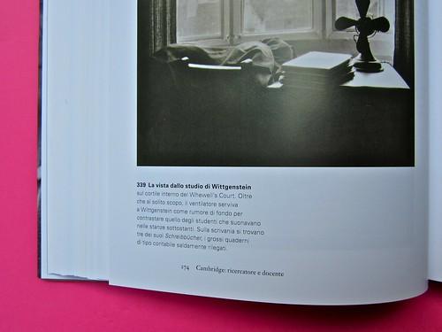 Michael Nedo (a cura di), Una biografia per immagini. Carocci 2013. Progetto grafico di Shoko Mugikura e Michael Nedo. Falcinelli & co. per l'ed. it. Pag. 274 (part.) 1