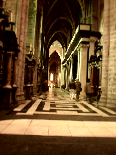 Side aisle, Saint Bavo