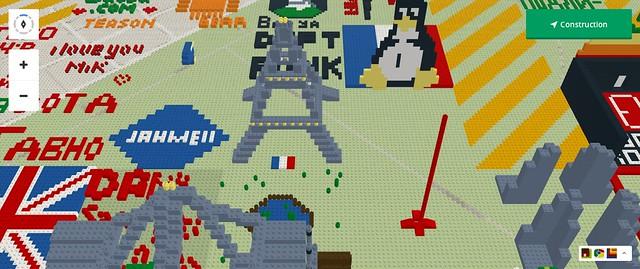 Lego build tour eiffel