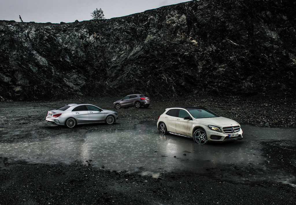 Mercedes-Benz GLAs and CLA