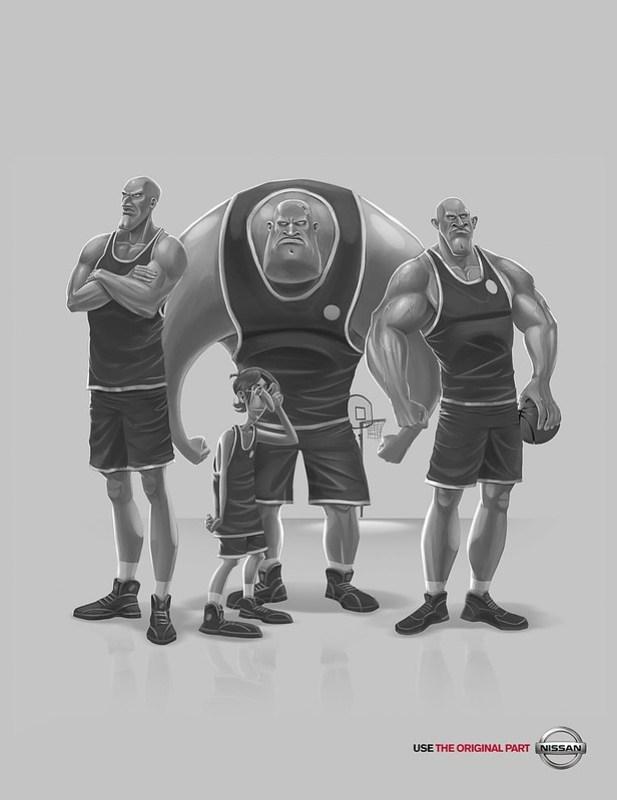Nissan Basketball