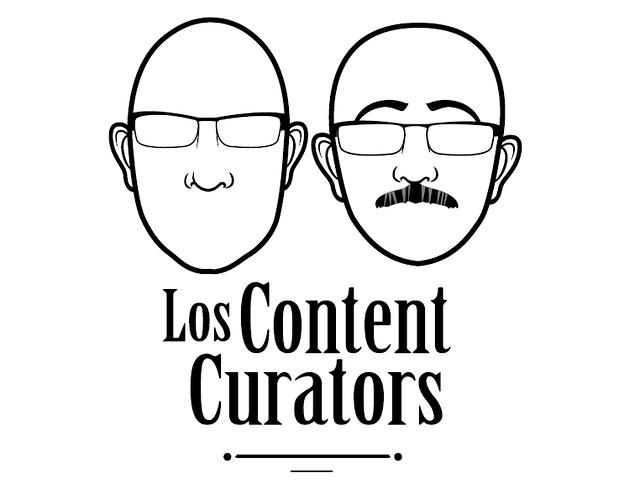 Los content curators Javier Leiva y Javier Guallar