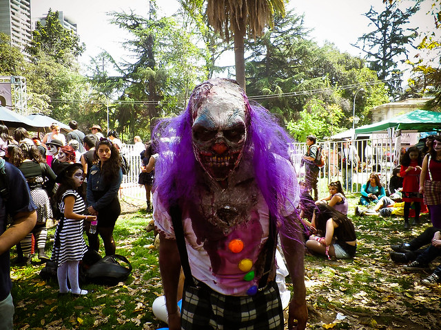 19.10.2013 #ZombieWalk 2013 en #Santiago de #Chile