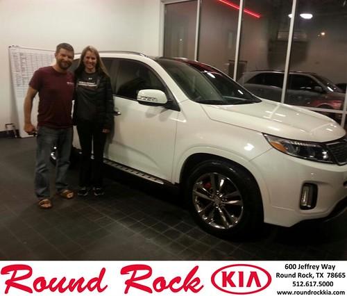 Thank you to David Hilsenteger & Bobbi Crittenden on your new 2014 #Kia #Sorento from Fidel Martinez and everyone at Round Rock Kia! #RollingInStyle by RoundRockKia