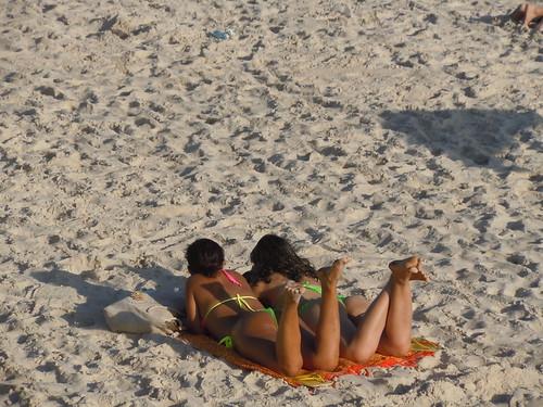 Flourescent Bikinis at the Beach, Ipanema