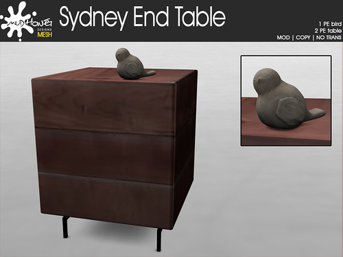 mudhoney sydney end table