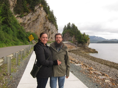 Walking to Hoonah