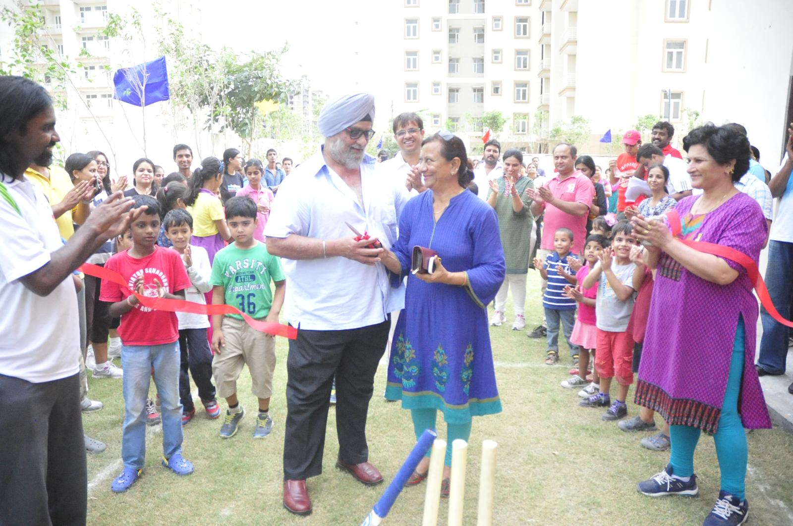 IWS Gurgaon - Indus Cricket Academy inaugurated by Bishan Bedi and Sunita Sharma