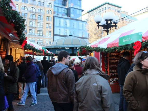 The Union Square Holiday Market