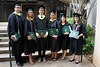 2014 spring graduates showing off their University of Hawaii at Manoa master's of library and information science (MLISc) degree. Photo by Andrew Wertheimer.
