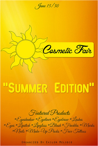 Cosmetic Fair Summer Edition