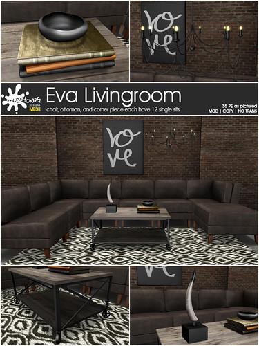 mudhoney eva livingroom