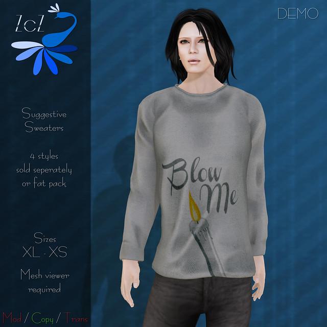 ZcZ Suggestive Sweaters