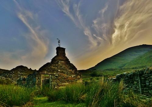 Slate Ruin and Sky