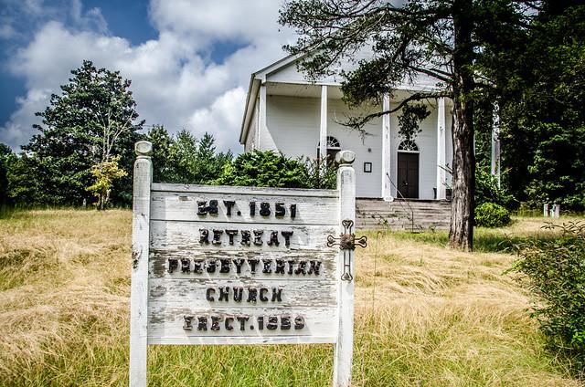 Old Retreat Prebyterian Church and Cemetery-029