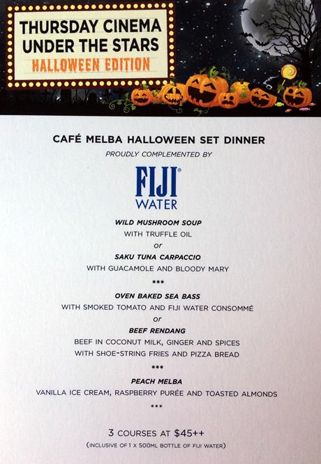 Cafe Melba October Specials