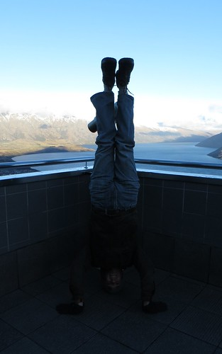 55. skyline lookout headstand