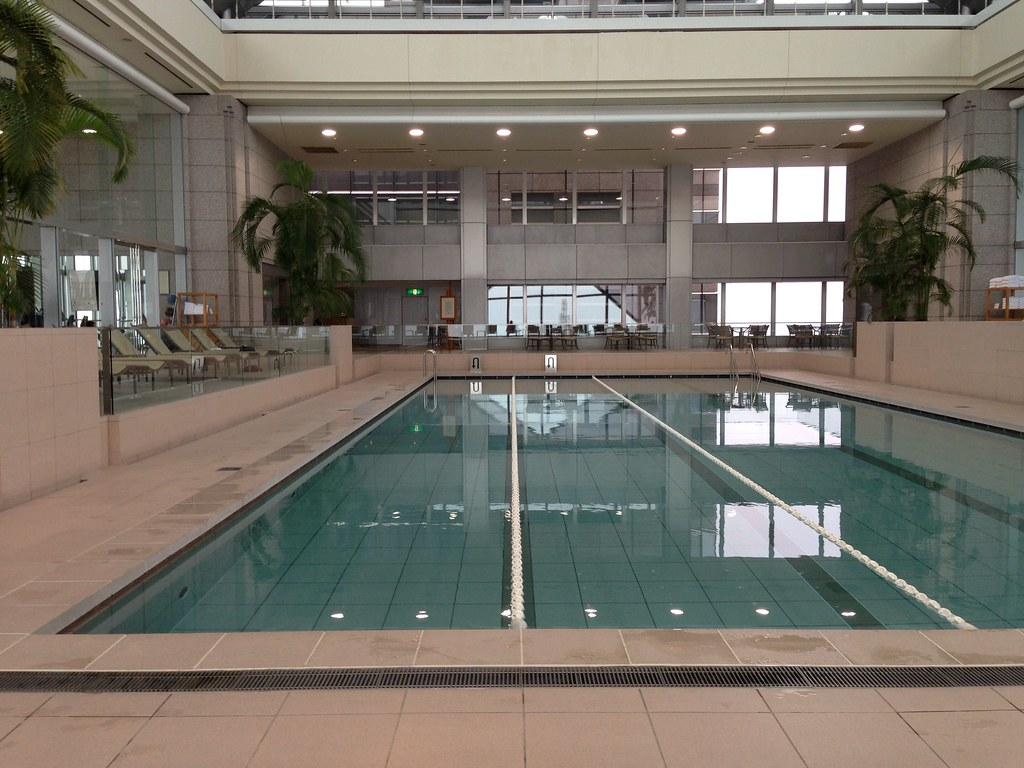 Swimming Pool at the 47th Floor