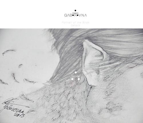 Portrait of the Birds (Kai fanart) - Details