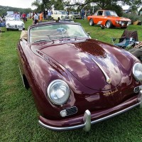 Radnor Hunt CDE: 1955 Porsche 356 Continental Cabriolet, owned by Barry Wolk.