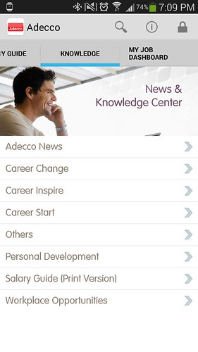 Knowledge Base ของ Adecco Thaialnd app