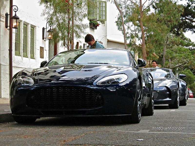Aston Martin V12 Zagato Spotted in Carmel, California