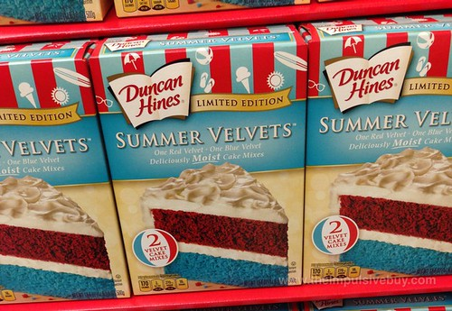 Duncan Hines Limited Edition Summer Velvets Cake Mix