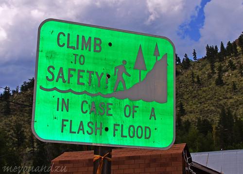 In case of flood
