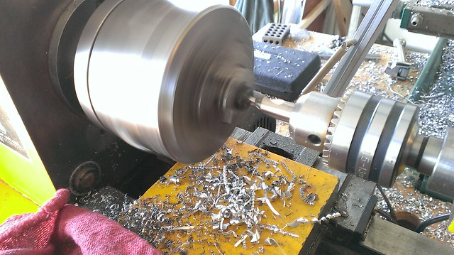 Lathe compound repair
