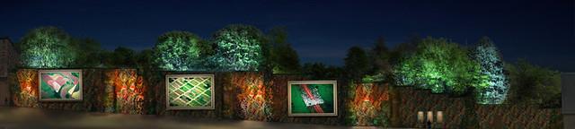 tranh tường thực vật