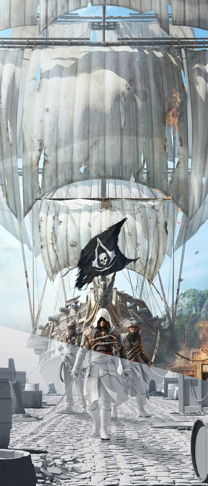 Visuals | Assassin's Creed IV: Black Flag - Art Of The Game