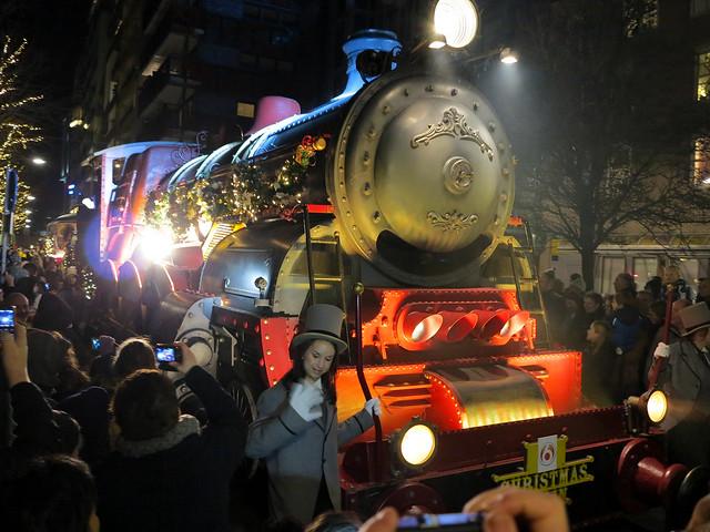 SBS6 Kerstparade Lelystad (20-12-2013).