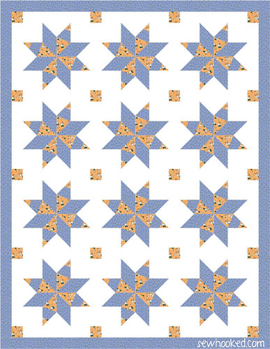january one block quilt 1