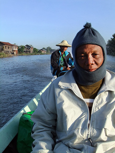 Boat Trip with Mr. Win along Inle Lake in Myanmar