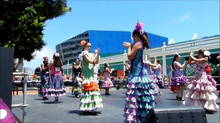VII Feria de abril Las Palmas Concurso de Sevillanas video 04