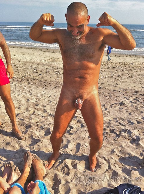 naturist 0003 Jacob Riis Park beach, NY, USA