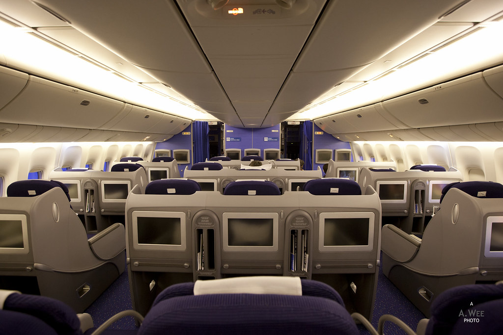 KLM World Business Class on the 777-300ER