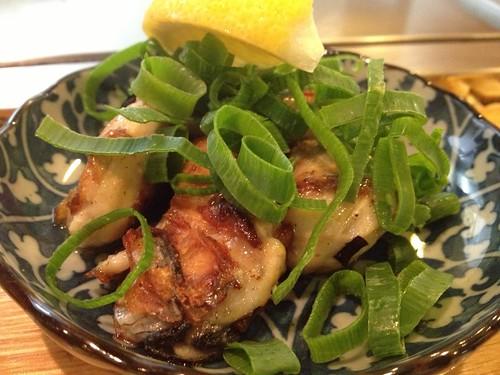 単品牡蠣の鉄板焼き@一番 明大前店