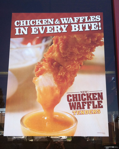 Chicken Waffle Tender sign 2