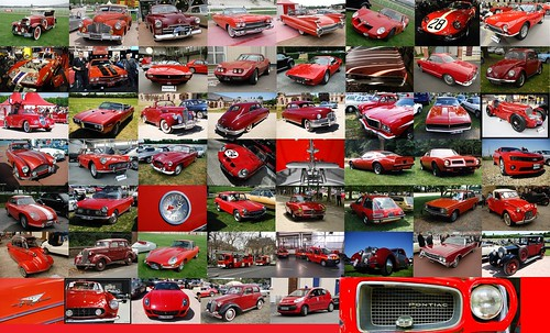 voitures rouge / rotes Auto / auto rossa / 赤い車 / red cars