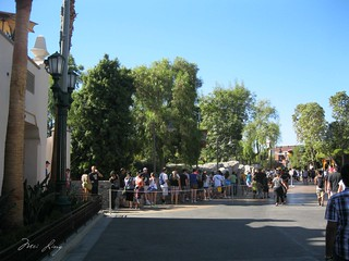 fast pass line up for the Radiator Springs ride