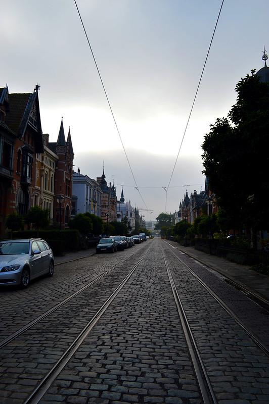 a street in Antwerp